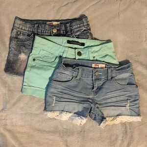 Other - Denim cutoff stretch shorts bundle